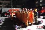 消防集结。杜学凯 摄 - 甘肃新闻