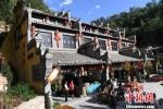 图为庆州古城药王洞马嵬驿民俗文化村。 杨艳敏 摄 - 甘肃新闻