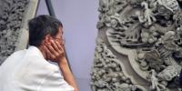 """(文化)(1)甘肃临夏:青砖雕""""锦绣"""" - 人民网"""