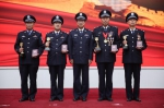 省公安厅隆重举行厅机关人民警察荣誉仪式 - 公安厅