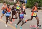 金昌第二届国际马拉松赛开赛 肯尼亚选手夺冠 - 甘肃新闻