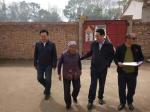 省红十字会赴景泰县正路镇兔窝村开展脱贫攻坚帮扶工作 - 卫生厅