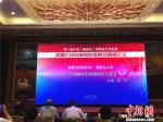 全国政协常委、原国家京剧院院长吴江以《关于戏曲电影拍摄的几点思考》为题,对戏曲电影的发展建言献策。 史静静 摄 - 甘肃新闻