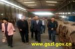 国家质检总局安全生产第七督查组督查七里河区特种设备安全监管情况 - 质量技术监督局