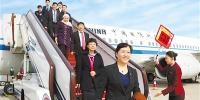 甘肃省出席党的十九大代表抵京 - 中国甘肃网