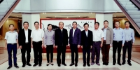 我省经贸代表团访问香港 - 外事侨务办