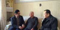办党组成员、副主任王海明同志慰问看望机关老干部 - 扶贫办