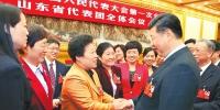 习近平李克强王沪宁赵乐际韩正 分别参加全国人大会议一些代表团审议 - 人民政府