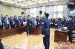 图为宣判现场。 甘肃省白银市中级人民法院供图 摄 - 甘肃新闻