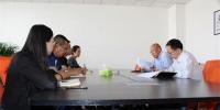 我校白银新材料研究院组织全体员工开展自查会 - 兰州理工大学