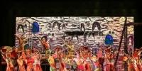 """有着""""可移动的敦煌""""""""中国版《罗密欧与朱丽叶》""""之称的舞剧《大梦敦煌》由兰州歌舞剧院创作演出,该剧以古代敦煌为时空背景,讲述青年画师莫高和少女月牙的动人爱情故事。 兰州演艺集团供图 - 甘肃新闻"""
