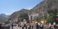甘肃舟曲出现滑坡崩塌地质灾害 附近群众转移 - 甘肃省广播电影电视