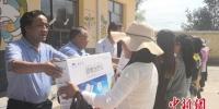 7月22日,2018年中央财政支持农村少数民族留守妇女救助及能力提升发展示范项目在甘肃临夏回族自治州积石山县小关乡政府启动。崔琳 摄 - 甘肃新闻