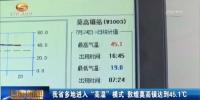 """甘肃进入""""烧烤""""模式  最高45.1℃你怕了吗? - 甘肃省广播电影电视"""