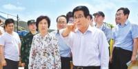 林铎在靖远察看指导抢险救灾工作 - 甘肃省广播电影电视