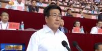 林铎宣布甘肃省第十四届运动会开幕 体育圣火照耀临夏 - 甘肃省广播电影电视
