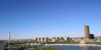 图为8月17日,玉门市新城区美景。 - 甘肃新闻