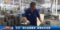 天水:强化金融服务 助推经济发展 - 甘肃省广播电影电视