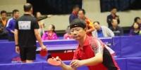 图为乒乓球比赛现场。 王斌 摄 - 甘肃新闻