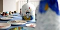 图为马家窑文创产品展示。 崔琳 摄 - 甘肃新闻