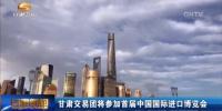 首届中国国际进口博览会5日在沪开幕 甘肃交易团整装待发 - 甘肃省广播电影电视
