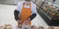 粮店根据顾客需求,现场研磨五谷杂粮营养餐。 史静静 摄 - 甘肃新闻