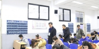 副校长马军党带队巡视期末考试考场 - 兰州交通大学
