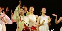 """【陇人相】台前幕后""""阿里郎"""" 翩翩起舞中韩情 - 中国甘肃网"""