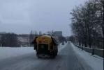 兰州公路局及时在环兰公路除雪保畅 - 交通运输厅