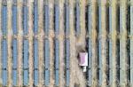 """【飞阅甘肃】张掖山丹:新能源发电奏响戈壁""""光伏曲"""" - 中国甘肃网"""