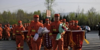 甘肃省增援外省灭火的300名指战员凯旋归来 - 甘肃省广播电影电视