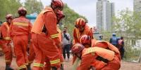 2019年兰州市防汛救援应急演练在兰州举行 - 人民网