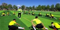 兰州榆中建成130个足球场覆盖全县城乡小学(组图) - 中国甘肃网