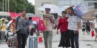 资料图:大学新生报到。中新社记者 贾天勇 摄 - 甘肃新闻