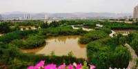 甘肃省会兰州城市底色:地净山绿 天蓝水清 - 甘肃新闻