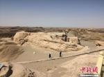 图为世界文化遗产锁阳城遗址城内面貌。(资料图) 冯志军 摄 - 甘肃新闻