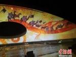 图为演艺节目展示的中华文明,丝绸之路。 杜萍 摄 - 甘肃新闻