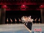 2019年9月,兰州文理学院艺术职业学院学生正在排练敦煌舞。 丁思 摄 - 甘肃新闻