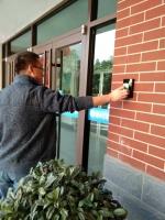 学生公寓门禁系统全面启用 硬件条件显著提升 - 兰州交通大学