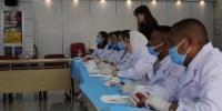 图为来自蒙古国、马达加斯加、巴基斯坦等7个国家的20名学员参加培训课程。 范晓磊 摄 - 甘肃新闻
