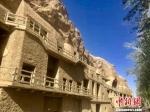 图为世界文化遗产莫高窟。 张婧 摄 - 甘肃新闻