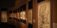 图为展览展出的飞天拓本。敦煌研究院供图 - 甘肃新闻