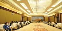 10月15日,甘肃省委常委、统战部部长马廷礼会见海外华文媒体甘肃采访团。 杨艳敏 摄 - 甘肃新闻
