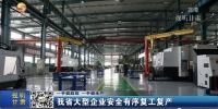 【短视频】甘肃省大型企业安全有序复工复产 - 甘肃省广播电影电视
