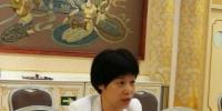 图为全国两会期间,全国政协委员、九三学社甘肃省委主委赵金云对黄河问题进行建言。受访者供图 受访者供图 - 甘肃新闻