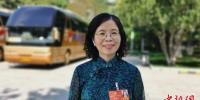图为全国政协委员、中国科学院近代物理研究所研究员、博士生导师蔡晓红。(资料图)受访者供图 - 甘肃新闻