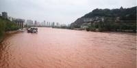 """图为今年5月8日,黄河兰州段河水重现""""本色""""。史静静 摄 - 甘肃新闻"""