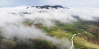 图为甘肃祁连山区雨后云雾缭绕似画卷。(资料图) 杨艳敏 摄 - 甘肃新闻