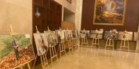 8月4日,甘肃退役军人创业代表艺术长廊展示风采。 高康迪 摄 - 甘肃新闻