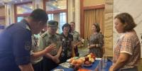 8月6日,颁奖仪式现场搭建甘肃特色农产品展示区。 高康迪 摄 - 甘肃新闻